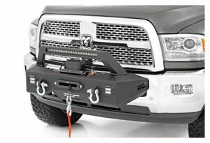 Rough Country Exo Front Winch Mount System For 14 18 Ram 2500 31007