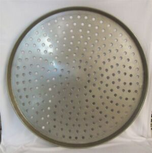Restaurant Equipment Supplies 24 Stainless Steel Perforated Pizza Pan
