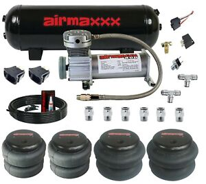 Airmaxxx 400 Air Compressor 3 Gallon Tank Paddle Switches Bags Hose Fittings