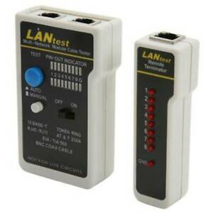 Network Cable Tester For Lan Rj45 Rj11 Cat5e Cat6 Ethernet Cable Wire Test