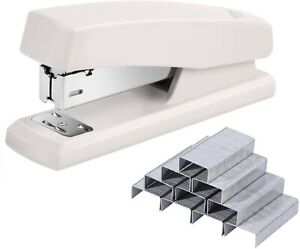 Plastic Full Strip Desktop Stapler Office With 640 Staples 25 Sheet Capacity