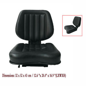 Universal Slidable Tractor Seat Riding Garden Lawn Mower Seat Fits Most Brands