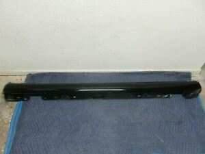 01 07 Mercedes benz W203 C230 Amg Left Driver Side Rocker Panel Black Oem