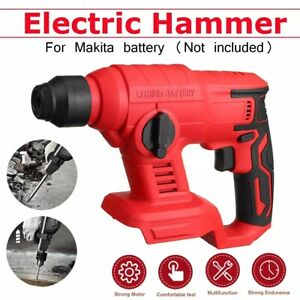 Electric Rechargeable Brushless Cordless Impact Hammer Drill Hammer No Battery