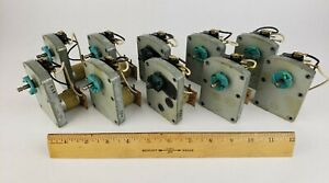 10x Snack Vending Machine Motor 24 Volts Ap Automatic Products National Rowe