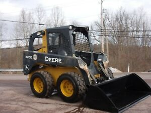 John Deere Skid Steer 320d 2012 Year New Bucket