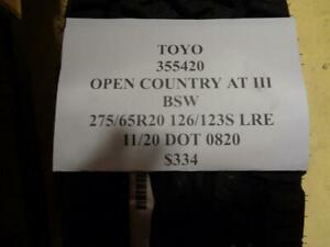 1 New Toyo Open Country At Iii Bsw 275 65 20 126 123s Lre Tire 355420 Q1