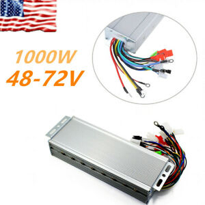 48 72v 1000w Electric Bicycle E bike Brushless Dc Motor Speed Control Universal