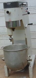 Titan 60qt Dough Mixer By Middleby Marshall 3 Phase