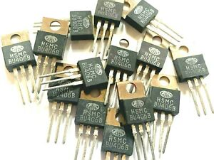 Bu406 Transistor Npn To 220 Power 60w 200v 10a High Free Us Shipping Lot Of 12