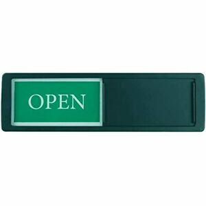 Open Closed Sign For Business Door Signs Privacy Slide Indicator Storefront
