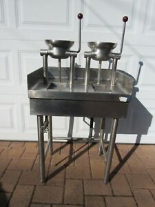 Vintage Crown Foods Direct Steam Table Jacketed Double Oyster Cooker Toc 1 Fish