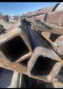 6x6 Square Tubing 1 2 Inch Thick 15 Ft Tall