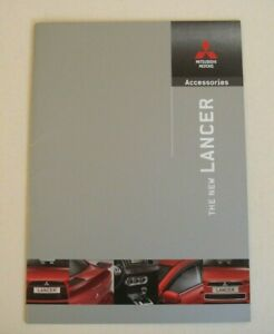 Mitsubishi . Lancer . Mitsubishi Lancer Accessories . June 2008 Sales Brochure GBP 5.99