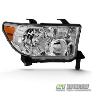 For 2007 2013 Toyota Tundra 2008 2017 Sequoia Headlight Headlamps Passenger Side