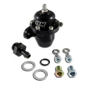 Aem 25 300bk Adj Fuel Pressure Regulator