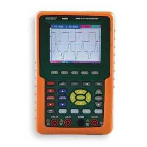 Extech Ms420 Handheld Digital Oscilloscope 20 Mhz 2 Channels 3 8 In Color Lcd