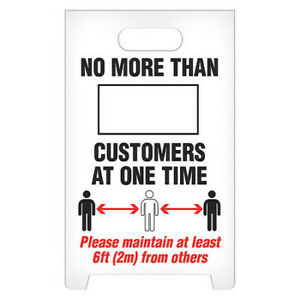 Incom Manufacturing Asf1016 A frame Standing Floor Sign
