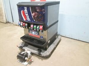 servend Counter top H d Commercial Lighted 8 Heads Soda W carbonation Pump
