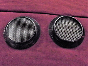 1955 1956 Ford Air Vent Covers Behind Grille