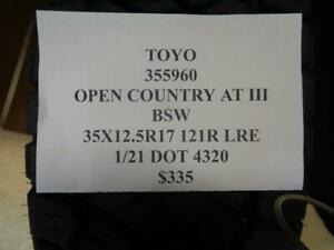 2 New Toyo Open Country At Iii Bsw 35 12 5 17 121r Lre Tires 355960 Q1