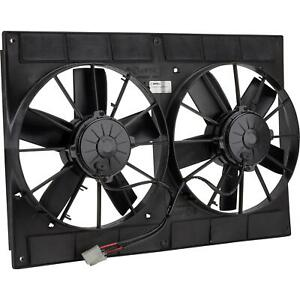 Spal 30102052 Dual Electric Cooling Fan Straight Blade 11 Inch