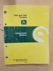 John Deere 7200 And 7400 Tractors Operator s Manual