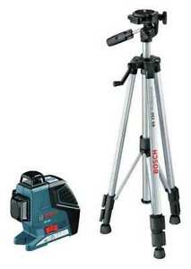 Bosch Gll3 300 Bt 150 Leveling alignment Laser int ext 265 Ft