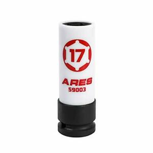 Ares 59003 17mm 1 2 inch Drive Non marring Impact Lug Nut Socket New