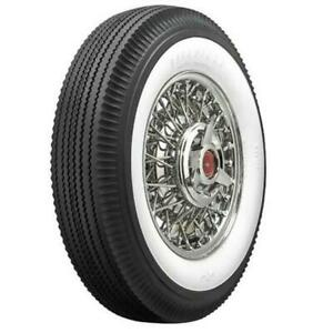 Firestone Vintage Bias Tire 670 15 2 6875 Inch Whitewall
