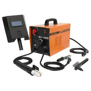 Bx1 160b Welding Machine Electric Welder 110v 8 Kva 60 160 Amp With Face Mask