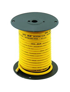 Accel 160094 60ft Spool 8 8mm Stainless Core Spark Plug Wire Yellow