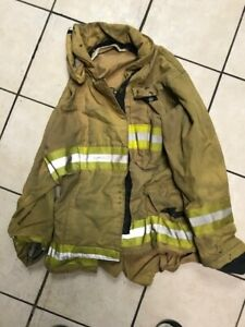 Firefighter Apparel Turnout Pants W Suspender Jacket Boots