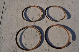 1920 S 1930 S Antique Vintage Classic Auto Wire Wheel 4 Lock Rings 20