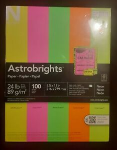 Astrobrights 8 5 X 11 Inch 100 Sheets Colored Paper