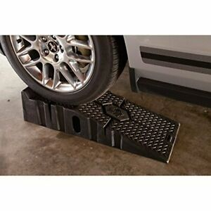 Portable Automotive Heavy Duty Mounting Car Ramp Home Auto Repair Non Skid Ramps