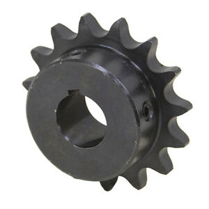 30 Tooth 1 Bore 40 Pitch Roller Chain Sprocket 40bs30h 1 1 2123 30 e
