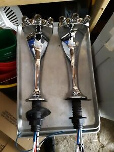 2 Micro Matic Mm1093f Ice Frosted 3 Tap Glycol Flooded Stainless Steel Beer Taps
