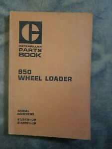 Cat Caterpillar 950 Wheel Loader Parts Book