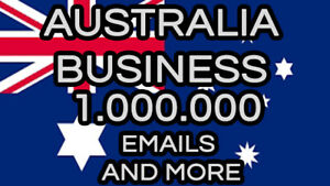 Email List Australia 2021 Updated 1 000 000 Business Database For Marketing