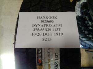 2 New Hankook Dynapro Atm 275 55 20 113t Tires 1025603 Q1