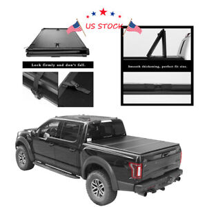 High Quality Hard Tri Fold Tonneau Cover Jdm For Toyota Tacoma 5ft Bed 2016 2020