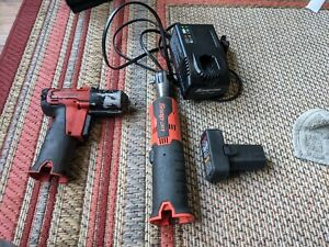 Snap On 14 4v Cordless 3 8 Drive Ratchet And Impact Ctr761c And Ct761a