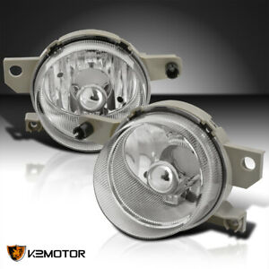 For 1993 1997 Honda Civic Del Sol Clear Bumper Driving Fog Lights Lamps L r