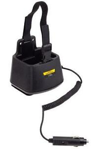 Charger For Motorola Mtr2000 Single Bay In vehicle Rapid Charger