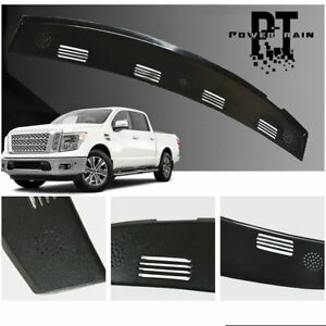 For 02 05 Dodge Ram Truck 1500 Dash Defrost Vent Grille Cover Cap Overlay
