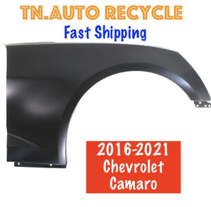 Fender For 2016 2021 Chevrolet Camaro Convertible Coupe Front Right Primed Steel
