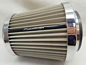 Spectre 9735 Turbo Air Intake Filter 4 3 5 3 102 89 76mm Stainless Dry Flow