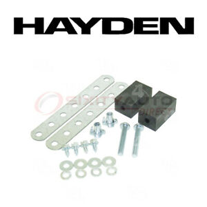 Hayden Oil Cooler Mounting Kit For 2002 Mitsubishi Montero Sport 3 0l V6 Ns