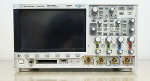 Agilent Dsox3024a 200mhz 4ch Oscilloscope With P6200 Probes